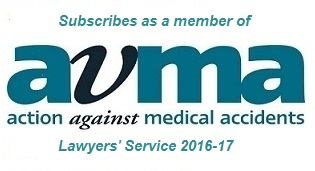Action Against Medical Accidents Lawyers Service 2016-17