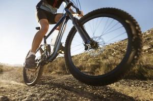 mountain bike close up